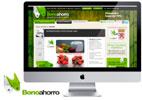 diseño de página web para móviles de descuentos y cupones de bonoahorro