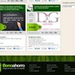 nueva página web 2.0 de diseño creativo para bonoahorro 3