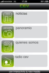 nueva aplicacion creativa para iphone de cev multimedia 1
