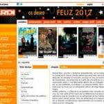 nueva página web 2.0 de diseño  creativo para cines-verdi 2