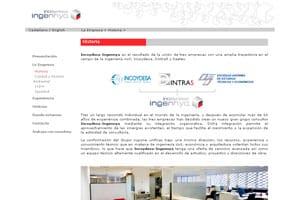nueva página web 2.0 de diseño creativo para ingennya 2
