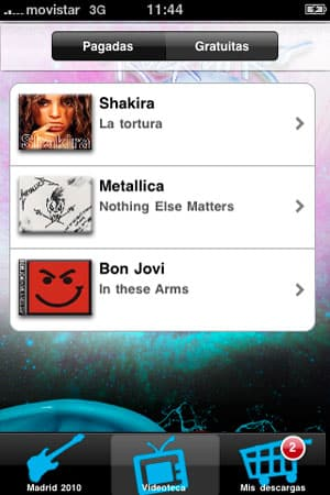 diseño de aplicaciones iphone creativas para rockinrio 2