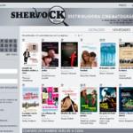 nueva página web 2.0 de diseño creativo para sherlock films 2