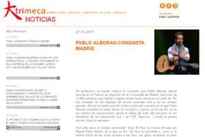 nueva página web 2.0 de diseño creativo para trimeca 3
