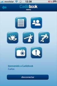 la nueva aplicacion de red social para iphone y android: cadizbook1