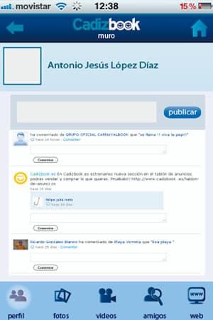 diseño de aplicación para android e iphone cadizbook 2