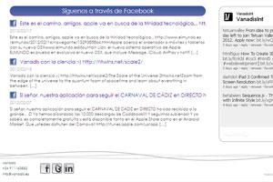 nuevas páginas web corporativas y redes sociales 2