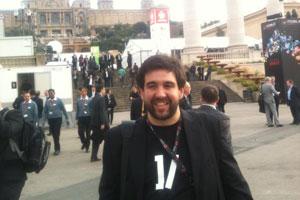 Pablo de la Concepción CTO de Vanadis en el Mobile World Congress 2012 de Barcelona