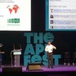 Pasamos dos días increibles en the app fest 2012