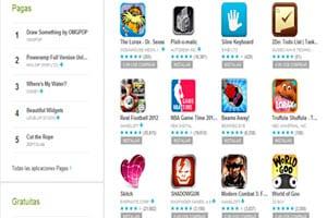 google play, el mercado de aplicaciones de google para android