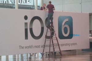 presentacion de iOS 6 iphone