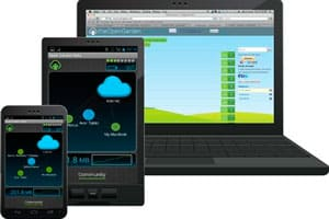 esta nueva app permite el acceso compartido a internet desde smartphones