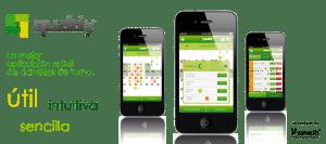 diseño de aplicaciones móviles de cambio de turnos de trabajo