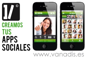 desarrollo de aplicaciones moviles de red social para iphone android