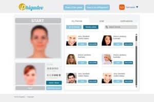 diseno y desarrollo de web de chat-video y red social 3