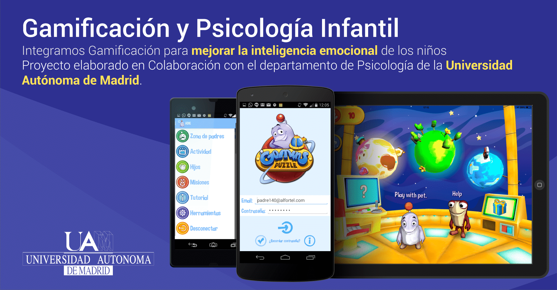 Gomins juego gamificacion y psicologia infantil