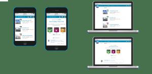 Ejemplo de la app para Pepsico