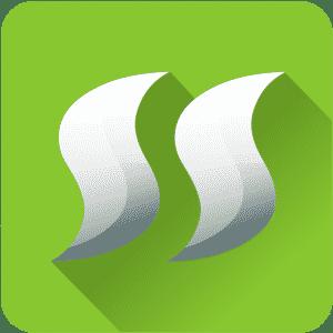 Icono login fondo verde