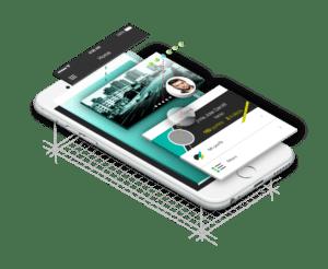 Ejemplo de app desarrollada por Vanadis