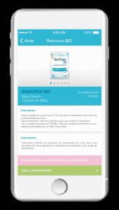 nestle escaner apps responsive
