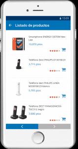 travelclub ejemplo apps responsive catalogo