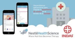 apps salud - nestle e indas