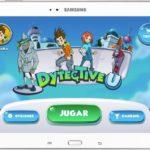 Captura de la app DytectiveU