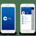 Mockup app COPE
