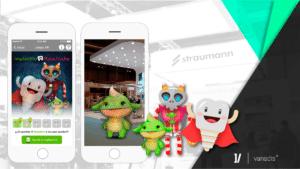 Vanadis desarrolla la app de gamificación para Straumann en Expodental 2018