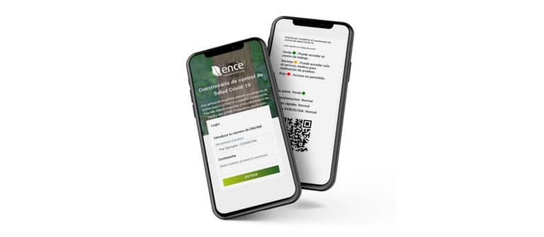 App para monitorizar contagios de covid