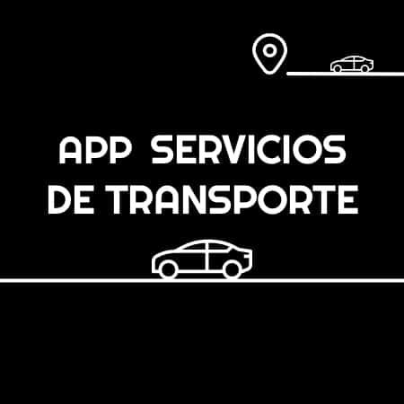 app servicios de transporte